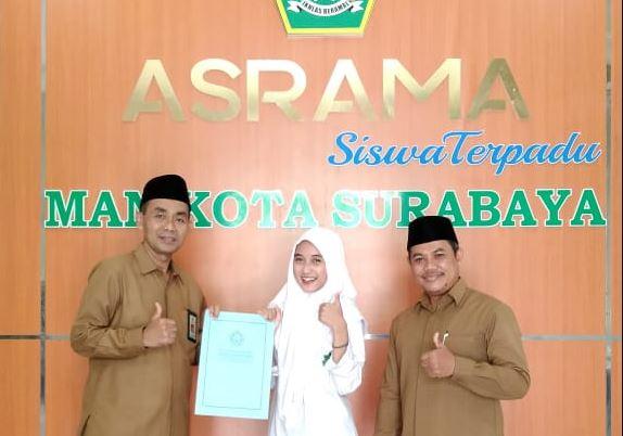 MAN Kota Surabaya sabet Juara 1 Vlog Competition KSKK Kemenag RI 2021